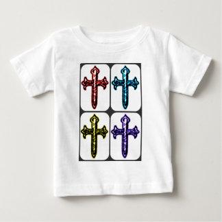 Collage cruzado de San Jaime T-shirts