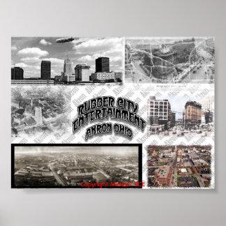 Collage de Akron, Copyright MzNazT RCE Póster