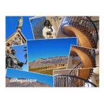 Collage de Albuquerque Santa Fe, New México Tarjetas Postales