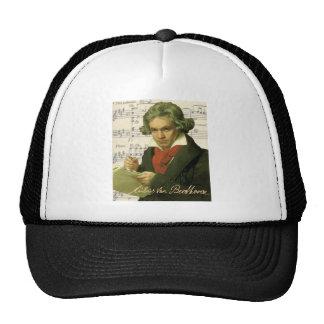 Collage de Beethoven del ~ de Ludwig van Beethoven Gorros