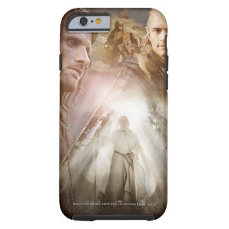 Collage de caracteres funda de iPhone 6 tough