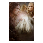 Collage de caracteres póster