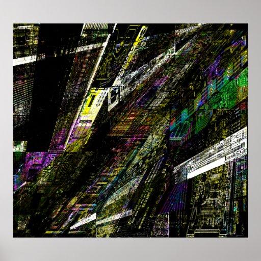 Collage de Circuit City Poster