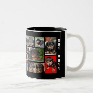 Collage de Clyde: El primer año Taza De Café