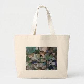 collage de cristal caído bolsa