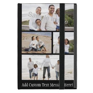 Collage de cuatro fotos iPad mini funda
