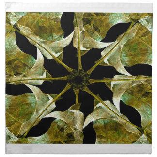 Collage de Digitaces con las hojas Servilleta