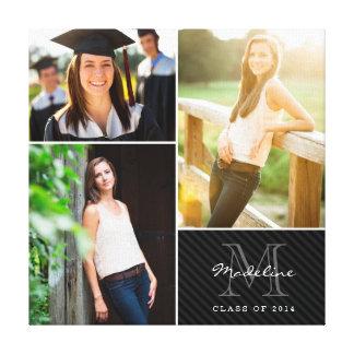 Collage de encargo 2014 de la foto de la graduació lona estirada galerías