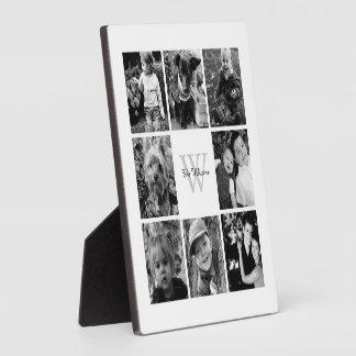 Collage de encargo de la foto de familia placas para mostrar
