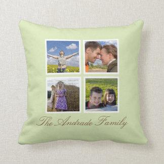 Collage de encargo de la foto de las almohadas de
