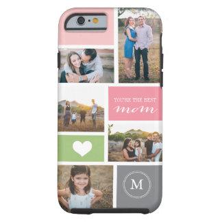 Collage de encargo de la foto del día de madre del funda de iPhone 6 tough