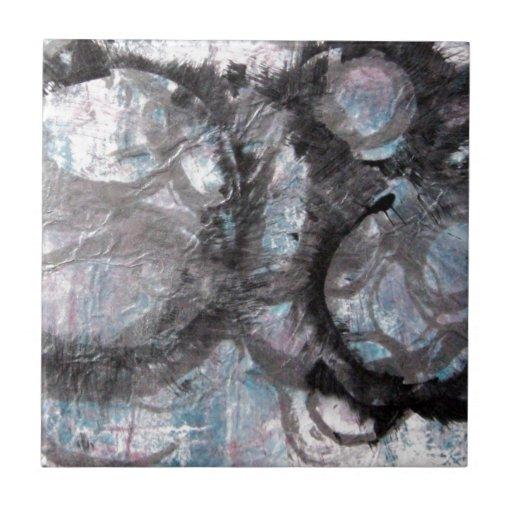 Collage de Enso - técnicas mixtas Teja Cerámica