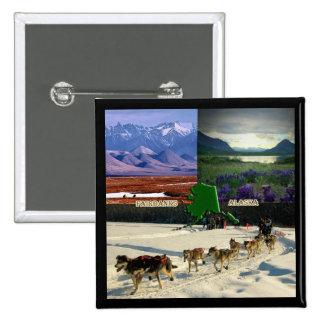 Collage de Fairbanks, Alaska Pin