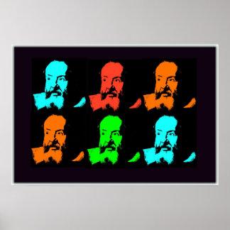 Collage de Galileo Póster