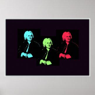 Collage de Johann Sebastian Bach Posters