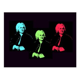 Collage de Johann Sebastian Bach Postal