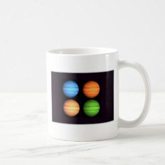 Collage de Júpiter Taza De Café