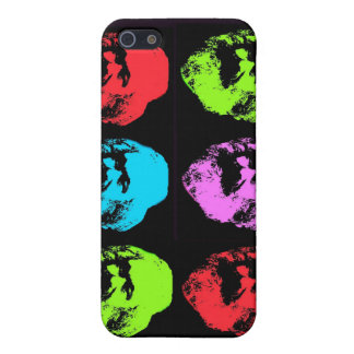 Collage de Karl Marx iPhone 5 Funda