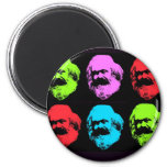 Collage de Karl Marx Imanes De Nevera