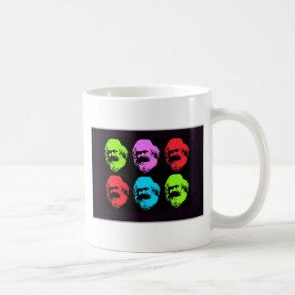 Collage de Karl Marx Tazas De Café