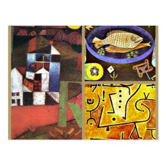 Collage de Klee Postales