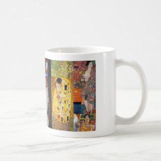 Collage de Klimt Taza Clásica