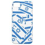 Collage de la bandera de Israel iPhone 5 Funda