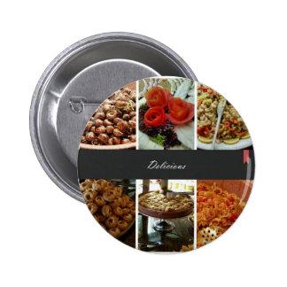 Collage de la comida pins