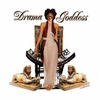 Collage de la diosa del drama escultura fotográfica
