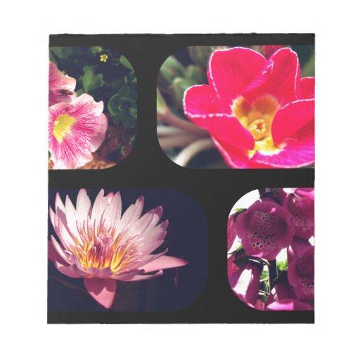 Collage de la flor blocs