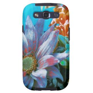 Collage de la flor galaxy SIII cárcasas