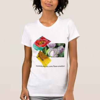 Collage de la flor poleras