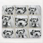 Collage de la foto con 9 fotos cuadradas - de colo tapetes de ratones