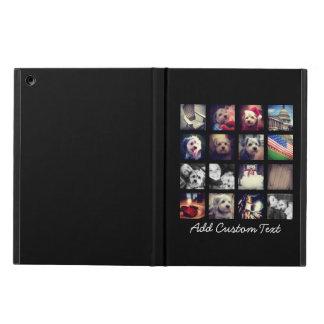 Collage de la foto con el fondo negro