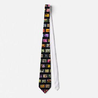 Collage de la foto corbatas personalizadas