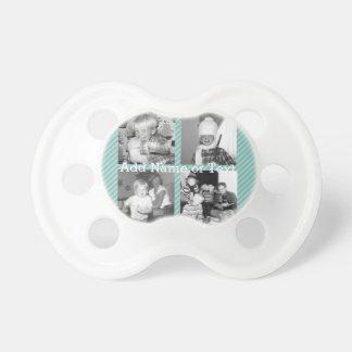 Collage de la foto de Instagram 4 imágenes - rayas Chupetes De Bebé