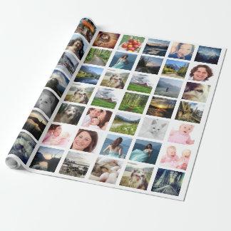 Collage de la foto de Instagram con 56 imágenes Papel De Regalo