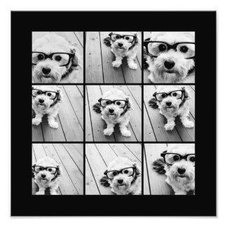Collage de la foto de Instagram con 9 fotos
