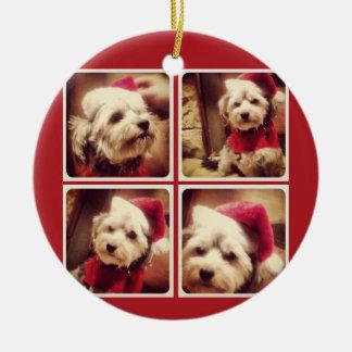 Collage de la foto de Instagram con Felices Navida Ornamentos Para Reyes Magos