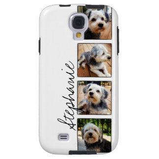 Collage de la foto de Instagram usando los marcos  Funda Para Galaxy S4