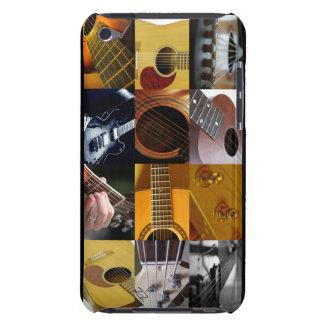 Collage de la foto de la guitarra Case-Mate iPod touch protectores