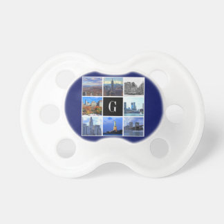 Collage de la foto de la imagen del horizonte 8 de chupetes