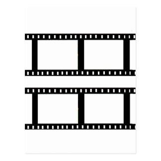 """collage de la foto de la tira de la película"" tarjetas postales"