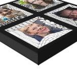 Collage de la foto de las Añadir-Su-Fotos 4 Impresión En Tela