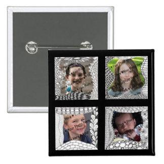 Collage de la foto de las Añadir-Su-Fotos 4 Pin