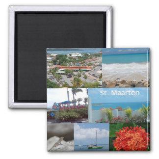 Collage de la foto de Maarten del Maarten-Santo de Imán Cuadrado