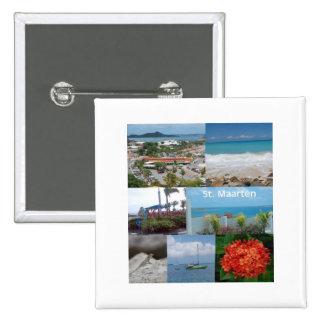 Collage de la foto de Maarten del Maarten-Santo de Pin Cuadrado
