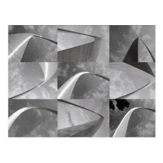 Collage de la foto del arco de la entrada de St. L
