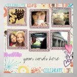 collage de la foto del instagram posters