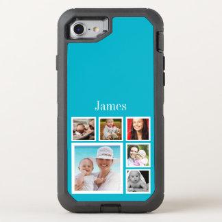 Collage de la foto funda OtterBox defender para iPhone 7